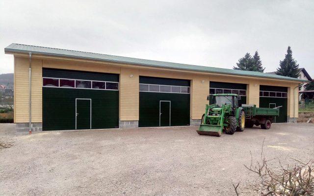 Hochrein - Der Zimmermann GmbH - Gewerbehallen